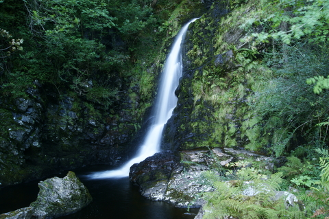 Grey Mares Tail Foret Galloway Ecosse
