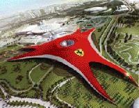 Le parc à thème Ferrari World Abu Dhabi