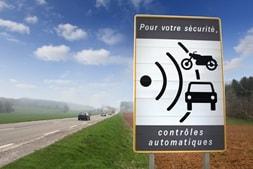 Radar et voiture de location